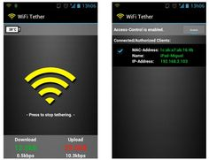 WiFi Tether for Root Users – O Android partilha a Internet