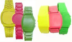 No time faux you. Paint a thrift store watch and make a funky no-time watch. Ask a cute boy what time it is instead!