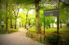 Westerleigh Park, on Staten Island is a great place to visit in the spring.
