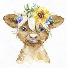 Watercolor Animals, Watercolor Art, Cute Text, Baby Animals, Cute Animals, Piglet, Baby Animal Drawings, Cute Animal Illustration, Animal Paintings