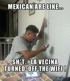 Hahaha Mexican Funny Memes, Mexican Jokes, Stupid Funny Memes, Funny Quotes, Hilarious, Funny Stuff, Mexican Stuff, Random Stuff, Frases