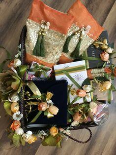 #baskets #wedding #trousseau Flower Decorations, Wedding Decorations, Wedding Hamper, Trousseau Packing, Wedding Gifts, Wedding Ideas, Packing Ideas, Gift Packaging, Imagination