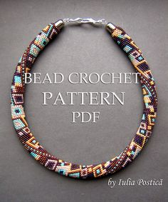 Beaded Treasury: Skyscraper - bead crochet pattern