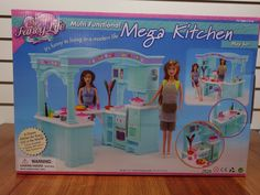 Gloria Doll House Furniture/(2826) My Fancy Life Mega Kitchen