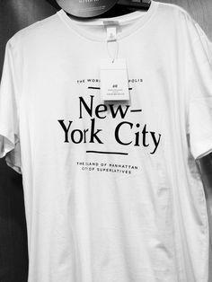 #HM #HundM #NYC #NewYorkCity #Tee #Tshirt #NewYork #NY