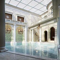Weltbekanntes Spa mit natürlichem Thermalwasser. The Gainsborough Bad & Spa. Wellness in England. Luxushotel UK| pic: CONNOISSEUR'S
