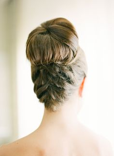 Traditional elegance with a twist (literally). #bridalbraids Photography: KT Merry Photography - ktmerry.com  View entire slideshow: 15 Bridal Braids We Adore at http://www.stylemepretty.com/2014/05/06/15-bridal-braids-we-adore/