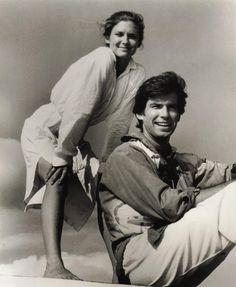 Steele away with me. TV Series Remington Steele. Sept 20, 1983. Stephanie Zimbalist as  Laura Holt and Pierce Brosnan as Remington Steele.