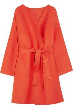 Bottega Veneta Belted double-faced cashmere coat