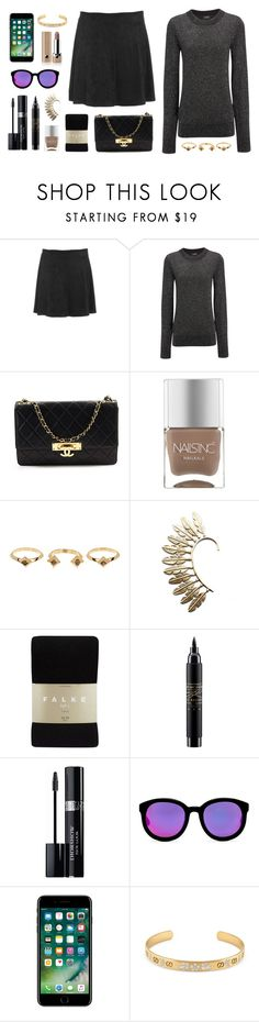 """Chata de Galocha - 05/05/2017"" by jessblock on Polyvore featuring BB Dakota, Joseph, Chanel, Nails Inc., House of Harlow 1960, Child Of Wild, Falke, MAC Cosmetics, Christian Dior and AQS by Aquaswiss"