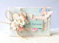 mini shabby card
