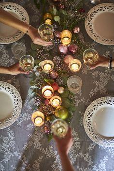 "Kerst-fotoshoot voor het megadikke ""Christmas Foodies magazine"" op Kasteel Tongelaar"