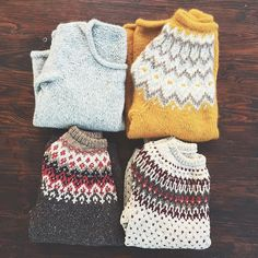 Inspiring sweater collection @maria_levine