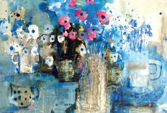 Sticking with Watercolour - the New Winsor and Newton Water Colour Sticks tried out by Soraya French