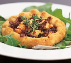 Caramelised Onion and Goat Cheese Tarts