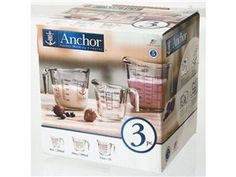 3-pc. Measure Set by Anchor Hocking