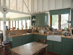 old farmhouse kitchens pictures -