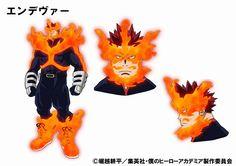 Revelados diseños para Endeavour de  segunda temporada de Boku no Hero Academia.