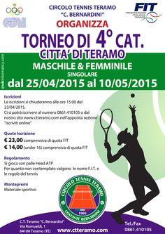 Alessandro Sciulli vince il torneo di Tennis di Teramo