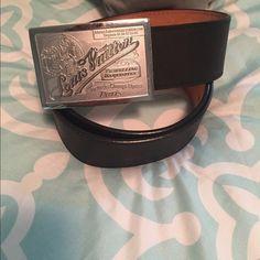 LOUIS VUITTON BELT Almost brand new original LOUIS VUITTON black belt Louis Vuitton Accessories Belts