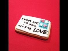 Galletas decoradas y personalizadas con mensaje. Galletas originales para tus fiestas.