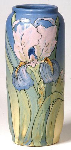 Weller Hudson Iris Vase