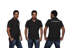 Impact Production Logo Polo Uniform #Collateral #o8 #Origin8Concepts #Branding