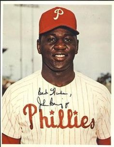 "John Briggs Philadelphia Phillies Autographed Vintage 8x10 Photograph Rare SLCOA . $12.00. Philadelphia Phillies LFJohn BriggsHand Signed 8x10"" Color PhotographJohn played for the Phillies from 1964-1971; he also spent 4 seasons with the Brewers..GREAT AUTHENTIC FOOTBALL COLLECTIBLE!!AUTOGRAPH GUARANTEED AUTHENTIC BY SPORTS LOT, INC. WITH NUMBERED  SPORTS LOT, INC. STICKER ON ITEM SPORTS LOT COA. #: 8558"