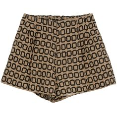 TER ET BANTINE Shorts ($480) ❤ liked on Polyvore