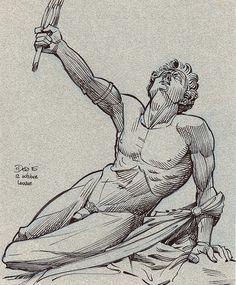 Marathon Soldier by Patrick Dea Soldier Drawing, Arte Sketchbook, Greek Art, Anatomy Art, Sketchbook Inspiration, Art Reference Poses, Art Drawings Sketches, Art Studies, Graffiti Art