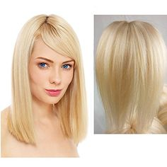 On Sale Free Shipping Top Quality Cheapest 6A Quality 14'' 100% Brazilian Human Virgin Hair Remy Straight Hair Extensions 613# Blonde Full Stock 100g/pc Myfashionhair http://www.amazon.com/dp/B00PXHBM5C/ref=cm_sw_r_pi_dp_sHPCub09Q2HJ3
