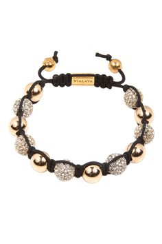 Nialaya Jewelry Crystal 10mm String Bracelet