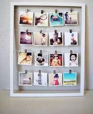 Idee su come appendere le fotografie