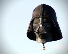 Darth hot air balloon,