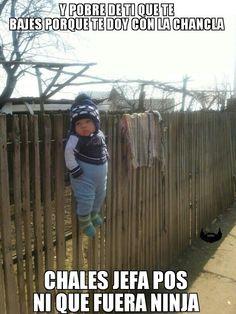 #Niño #humor en español.