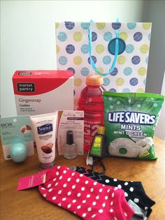 Chemo Care Kit--just a few things to help my BFF get through her 1st chemo treatment.