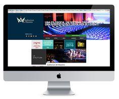#Website for #Auditorium del Massimo. #Event #Congress #Roma #Italy #Mobile