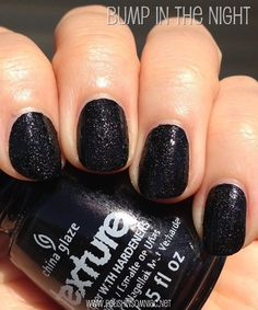 China Glaze Bump in the Night, one of my favorites!!!! China Glaze Nail Lacquers #chinaglaze #OPI @opulentnails over 12,000 pins