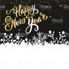 Happy New Year Card royalty-free stock vector art