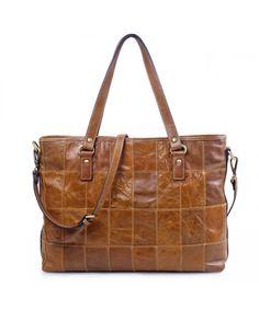 d71ba9b993 Vintage Handbag Genuine Shoulder - Brown - CK12BWW120D. Shopping  TotesWomens Tote BagsLeather ...