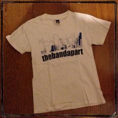 バンドアパートTシャツ。 バンアパのTシャツで1番着用しています。/ Twitter @�삙�썝 �씠