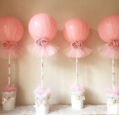 Tulle balloons