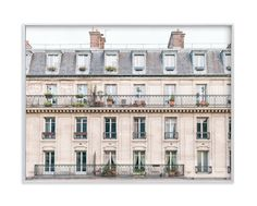 """Days in Paris"" - Art Print by Jessica Cardelucci Nugent in beautiful frame options and a variety of sizes."