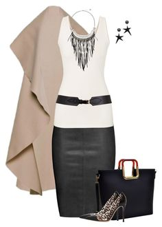 """""""Nancy"""" by lisa-holt ❤ liked on Polyvore featuring Jitrois, maurices, Marni, Dasein, Gianvito Rossi, The Sak and Maison Boinet"""