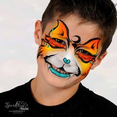 Carnival, Faces, Painting, Skulls, Color, Painted Faces, Illusions, Wild Animals, Superheroes