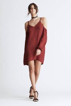 0e2d12cdf666e Haute Hippie - Crossroads Cold Shoulder Dress