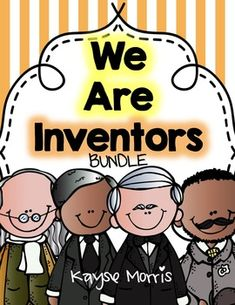 Inventor's UnitInventor's Unit BundleInventor's Unit Mega Pack! This Inventor's Unit MEGA BUNDLE includes all FOUR of my Inventor's Unit characters. Inventors-I am Benjamin FranklinInventors-I am Thomas EdisonInventors-I am George Washington CarverInventors-I am Garrett MorganSold separately these Inventors-mini units are $4.00 or $4.50 each- but when you bundle these Inventors mini units you get one for FREE!!