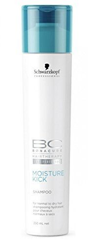 Schwarzkopf BC Bonacure Moisture Kick Shampoo for Normal to Dry Hair 250ml85oz *** Click image for more details.Note:It is affiliate link to Amazon.