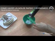 Como hacer un molde de silicona rápido y económico por DDG - YouTube