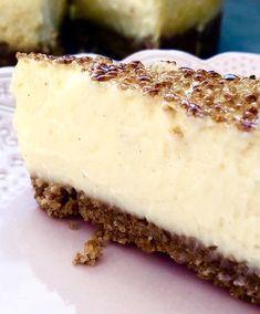 Best Dessert Recipes, Desert Recipes, Sweet Recipes, Delicious Desserts, Yummy Food, Cookie Desserts, No Bake Desserts, Creme Brulee Cheesecake, Swedish Recipes